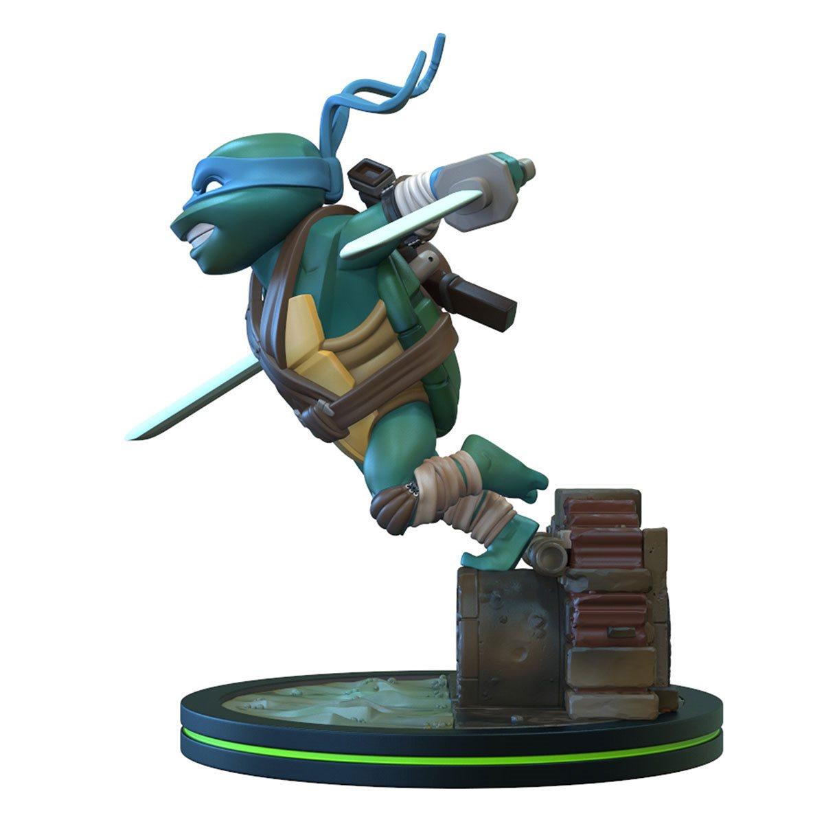 Teenage Mutant Ninja Turtles Leonardo Q Fig Entertainment Earth