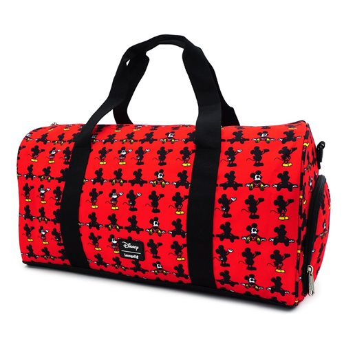 Mickey Mouse Classic Print Nylon Duffle Bag