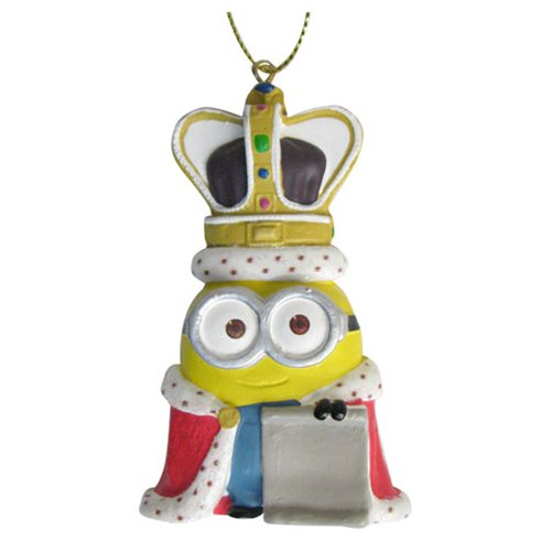 Despicable Me Minions King Bob 3 1/2-Inch Personalization Ornament