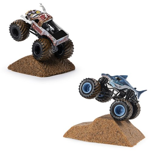 Monster Jam Monster Dirt Starter Set Playset Case