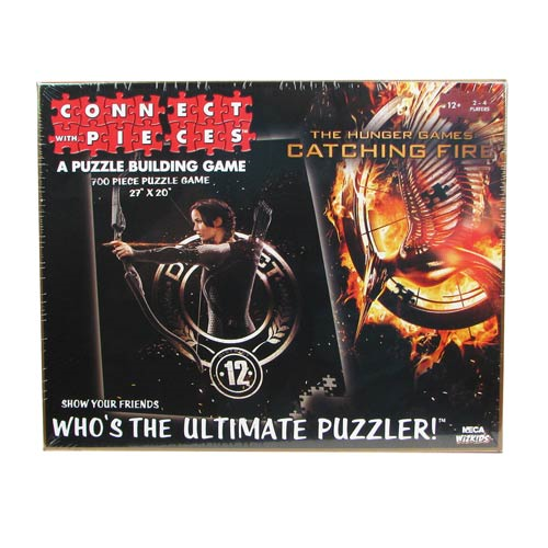 Hunger Games Catching Fire Movie Connect With Pieces Puzzle Building Game