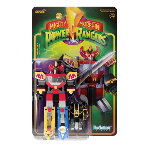 Mighty Morphin Power Rangers Megazord 3 3/4-Inch ReAction Figure