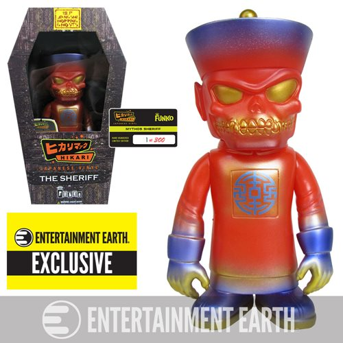 Jiangshi Ghost Mythos Sheriff Hikari Sofubi Vinyl Figure - Entertainment Earth Exclusive