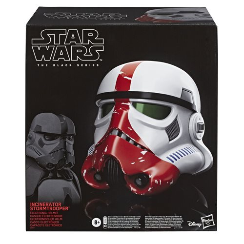Star Wars The Black Series The Mandalorian Incinerator Stormtrooper Electronic Voice-Changer Helmet