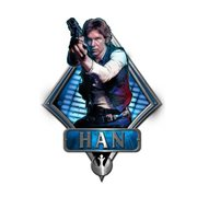 Star Wars Han Solo Die-Cut Wood Wall Art