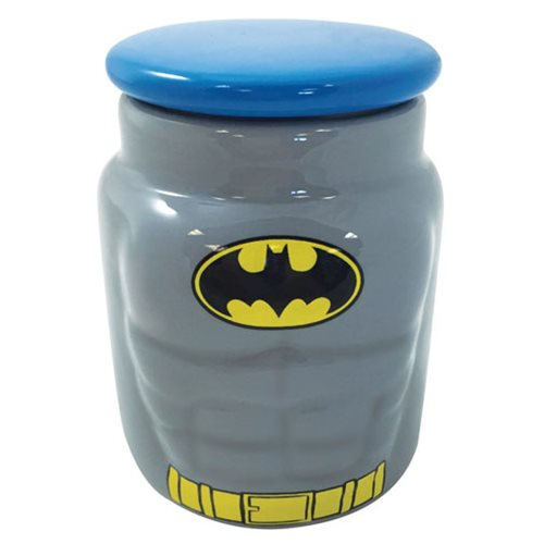 Batman Molded Character Ceramic Apothecary Jar