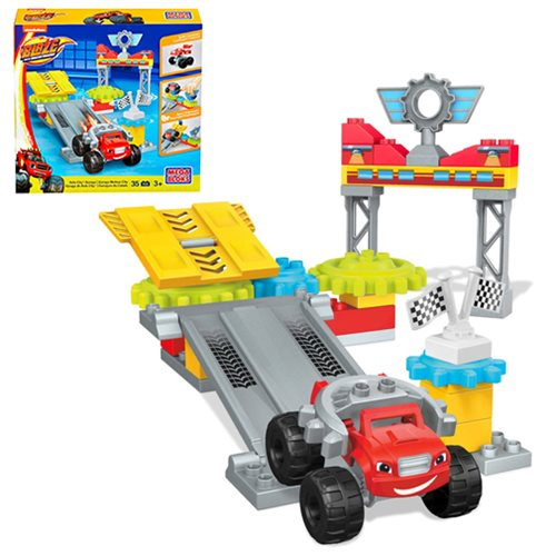 Mega Bloks Blaze and the Monster Machines Axle City Garage