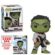 Avengers: Endgame Hulk Pop! Vinyl Figure with Collector Cards - Entertainment Earth Exclusive