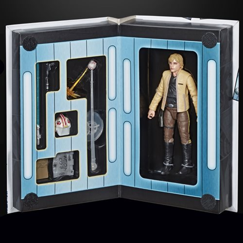Star Wars The Black Series Luke Skywalker (Skywalker Strikes) 6-Inch Action Figure - Convention Excl