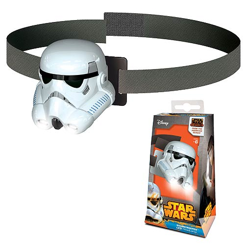 Lego Star Wars Rebels Stormtrooper Head Lamp Flashlight