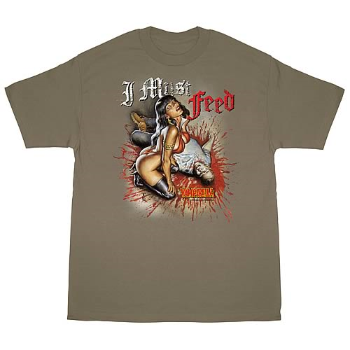 Vampirella I Must Feed T-Shirt