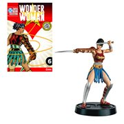 DC Wonder Woman Mythologies Divine Armor Statue with Collector Magazine #6