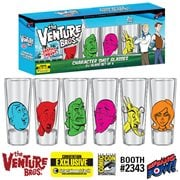 The Venture Bros. Character Shot Glasses - Set of 6 - Convention Exclusive