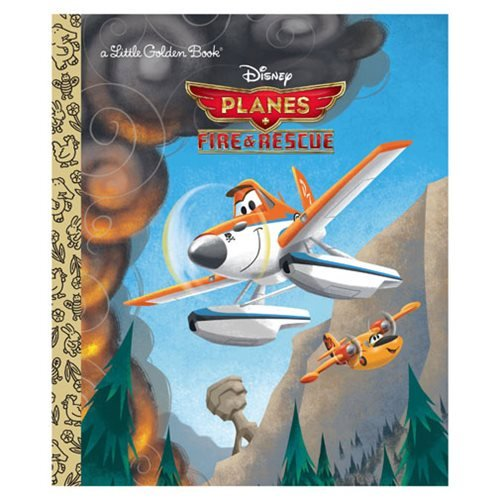 Planes Fire and Rescue Little Golden Book