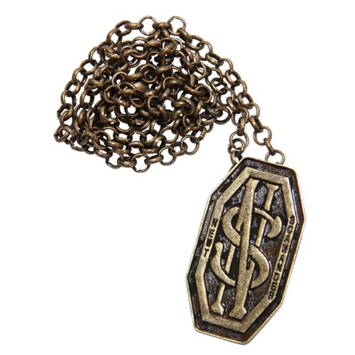 Fantastic Beasts and Where to Find Them Newt Scamander Monogram Pendant Pin