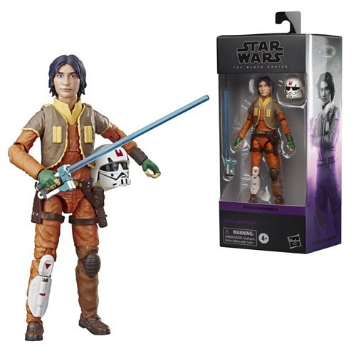 Star Wars The Black Series Ezra Bridger 6-Inch Action Figure