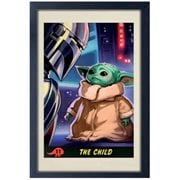 Star Wars The Mandalorian The Child Framed Art Print