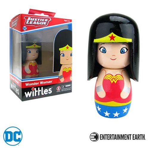 Wonder Woman Wittles Wooden Doll