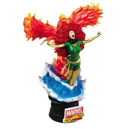 Marvel Comics Phoenix D-Stage Series 6-Inch Statue - Previews Exclusive