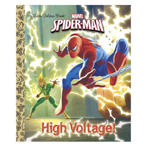 Marvel Spider-Man High Voltage! Little Golden Book
