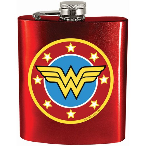 Wonder Woman Hip Flask