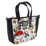 Pokemon Eevee Evolution Tattoo Print Crossbody Purse