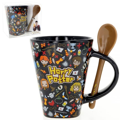 Harry Potter Mug with Spoon
