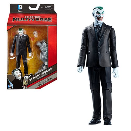 DC Comics Multiverse The Joker Action Figure, Not Mint