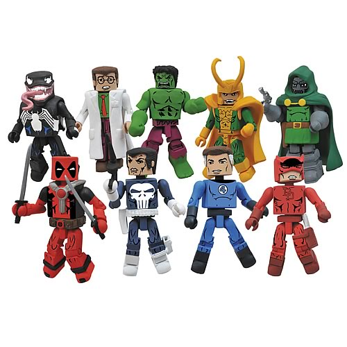 Marvel Minimates Best of Series 2 Set
