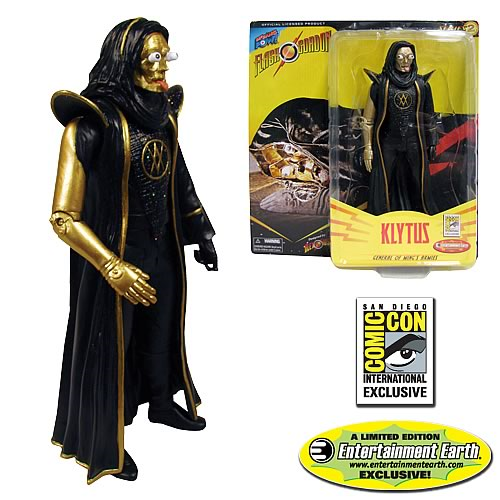 Alex Ross Flash Gordon Klytus 7-Inch Action Figure - Convention Exclusive