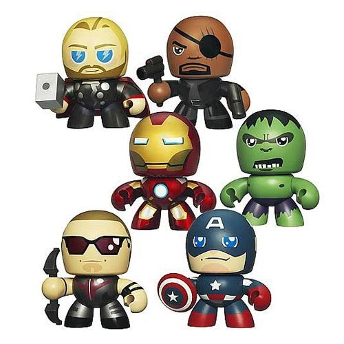 Avengers Micro Muggs Mini-Figures Wave 1 Case