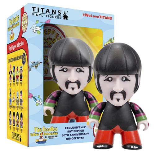 The Beatles Sgt. Pepper's Ringo in Disguise 4 1/2-Inch Titans Vinyl Figure
