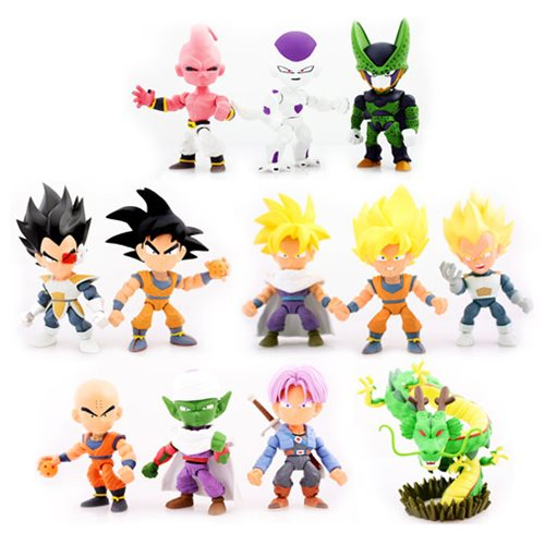 Dragon Ball Z 3-Inch Series 1 Mini-Figure Display Case