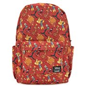 Emperor's New Groove Character Print Nylon Backpack