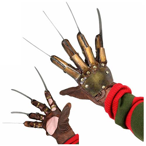 Nightmare on Elm Street 3 Dream Warriors Freddy Krueger Glove Prop Replica