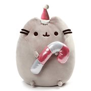 Pusheen the Cat Pusheen Christmas Candy Cane 11-Inch Plush