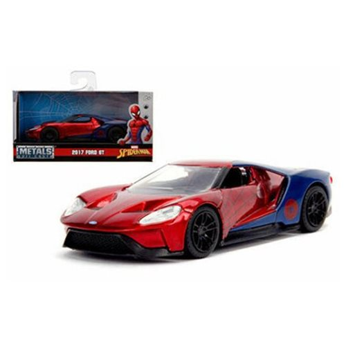 Hollywood Rides Spider-Man 2017 Ford GT 1:32 Scale Die-Cast Metal Vehicle