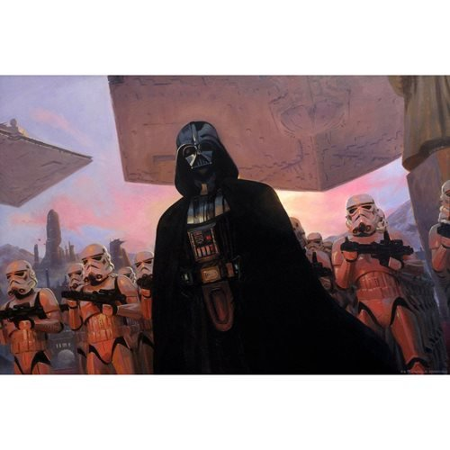 Star Wars: A New Hope The Diplomat by Jake Murray Lithograph Art Print