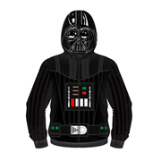 Star Wars Darth Vader Sublimated Costume Fleece Zip-Up Hoodie