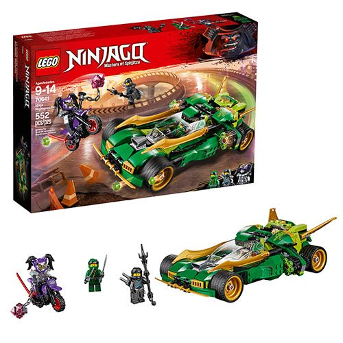 LEGO Ninjago TV Series 70641 Ninja Nightcrawler