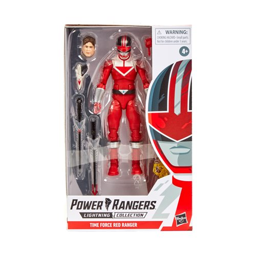 Power Rangers Lightning Collection Time Force Red Ranger 6-Inch Action Figure