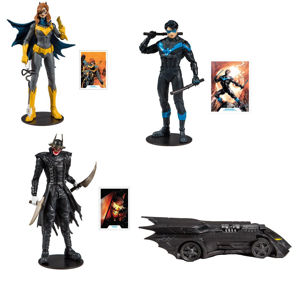 DC COMICS COLLECTOR WAVE 1 MODERN BATGIRL FIGURE MCFARLANE TOYS BATMAN PREORDER
