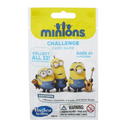 Despicable Me Minion Challenge Card Game with Figure 5-Pack