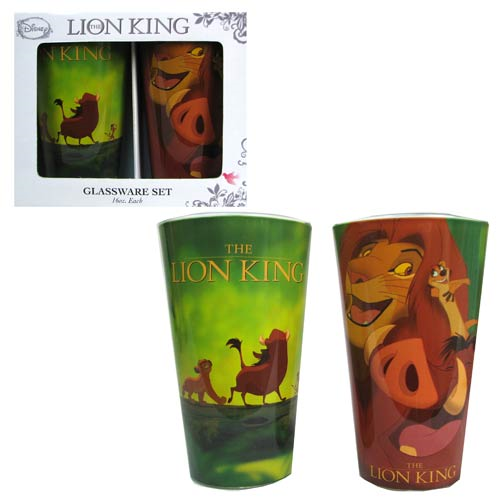 The Lion King 16 oz. Pint Glass 2-Pack