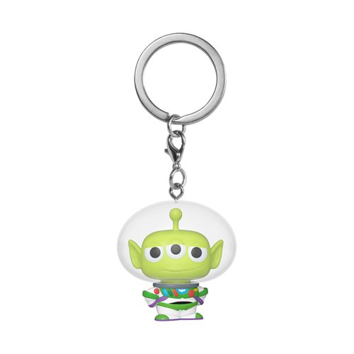 Pixar 25th Anniversary Alien Remix Buzz Pocket Pop! Key Chain