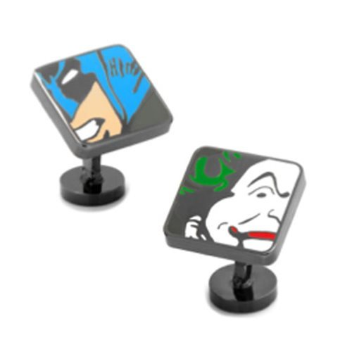 Batman and Joker Mash-Up Cufflinks
