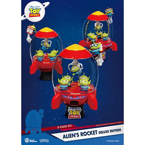 Toy Story Aliens Rocket DS-031 D-Stage Series Deluxe Statue - Previews Exclusive