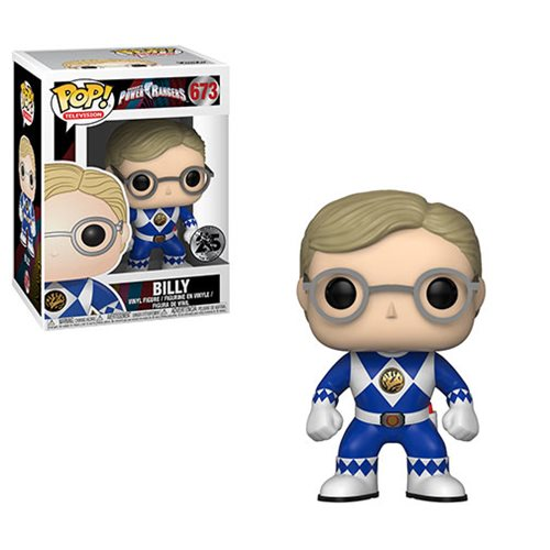 Power Rangers Blue Ranger No Helmet Pop! Vinyl Figure #673