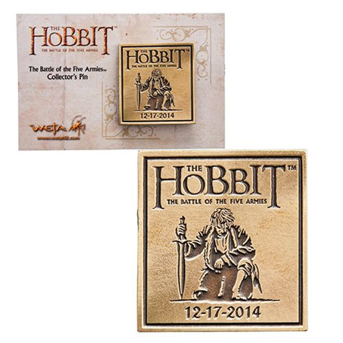 The Hobbit The Battle of Five Armies Collectable Pin