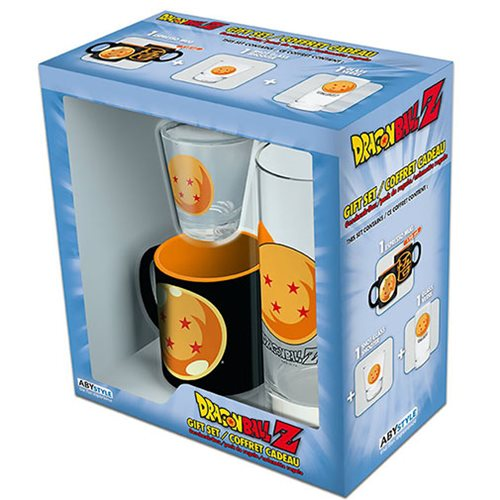 Dragon Ball Z Shot Glass Gift Set